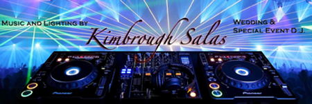 Kimbrough Salas Music - the San Francisco Bay Area's Premier Wedding & Special Event DJ Service